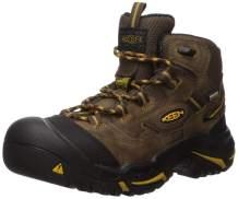 KEEN Utility - Men's Braddock Mid Waterproof (Steel Toe) Work Boots