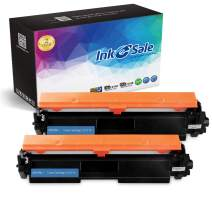INK E-SALE Compatible Toner Cartridge Replacement for HP 17A CF217A Black 2-Packs, for use with HP Laserjet Pro M102w,Laserjet Pro MFP M130fn, M130fw, M130nw, M130a Printers