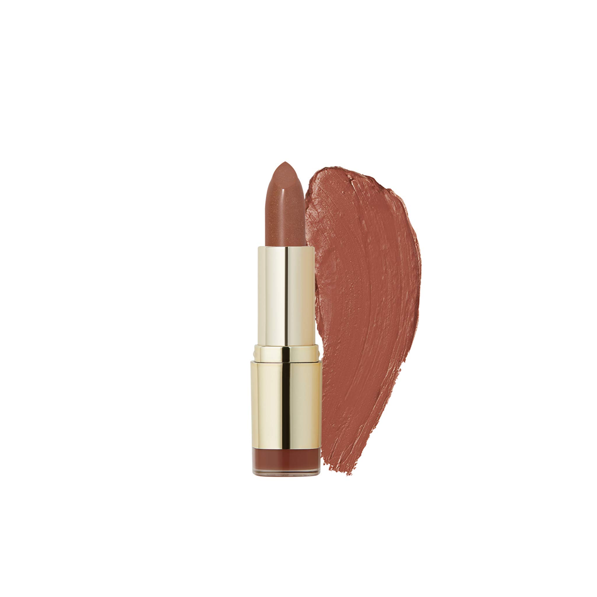 Milani Color Statement Lipstick - Bronze Beauty, Cruelty-Free Nourishing Lip Stick in Vibrant Shades, Red Lipstick, 0.14 Ounce