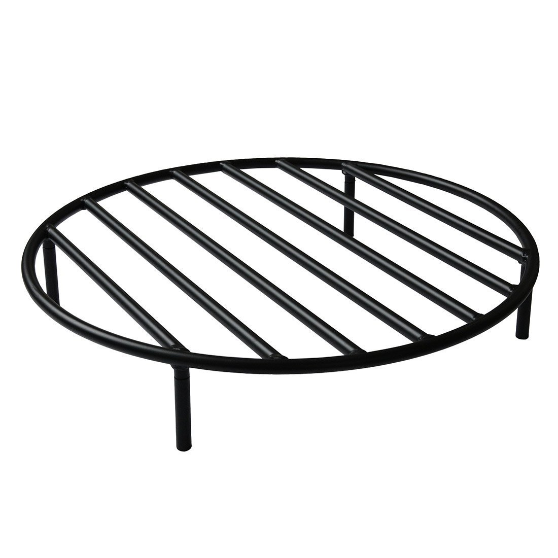 onlyfire Round Fire Pit Grate with 4 Legs for Outdoor Campfire Grill Cooking, 30 Inch