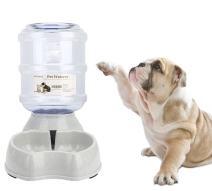 Old Tjikko Dogs Water Dispenser,Water Bowl for Dogs,Pet Water Dispenser,Automatic Dog Water Bowl Cat Water Dispenser Dog Drinking Fountain,1 Gallon (Water Dispenser)