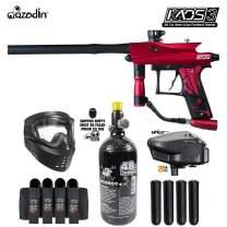 Maddog Azodin KAOS 3 Expert Paintball Gun Marker Starter Package