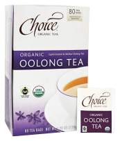 Choice Organic Teas - Organic Oolong Tea - 80 Tea Bags