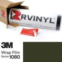 3M 1080 M26 Matte Military Green 5ft x 8ft W/Application Card Vinyl Vehicle Car Wrap Film Sheet Roll