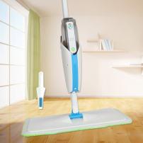 MangGou Microfiber Floor Mop, Professional 360 Degree Microfiber Spray Mop Kit, Handle Cleaning Mop with Hybrid Carbon Microfiber for House, Kitchen, Hardwood, Tile Floor Cleaning
