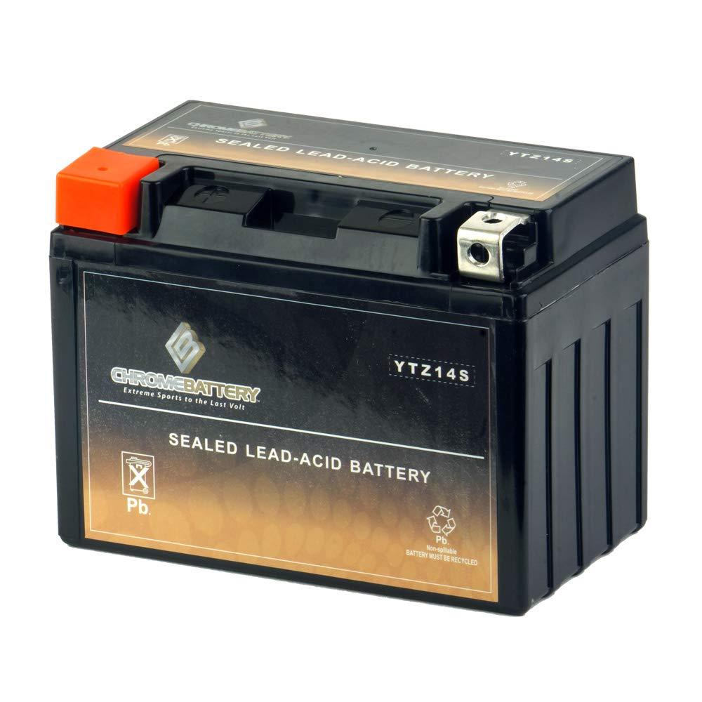 Chrome Battery YTZ14S lead_acid_battery