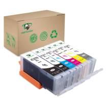 Supricolor PGI-270XL CLI-271XL Ink Cartridges, 6-Pack High Yield Pgi 270 Cli 271 Ink Compatible with PIXMA TS8020 PIXMA TS9020 PIXMA MG7720 Printer (with Gray)