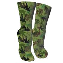 ULQUIEOR Women's Cotton Funny Crazy Novelty Athletic Sports Crew Socks
