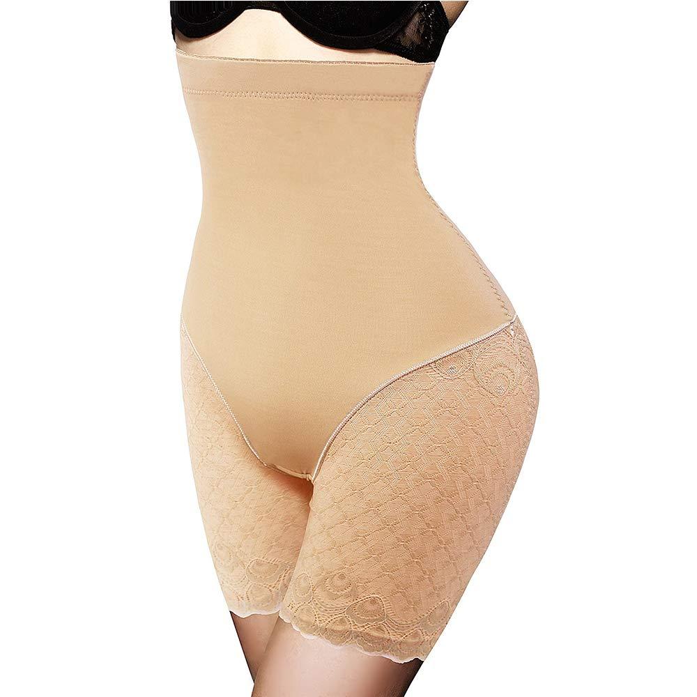 Women Body Shaper Tummy Control Butt Lifter High Waist Lace Slimming Panties Waist Trainer