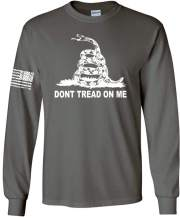 Patriot Apparel Don't Tread On Me Orig Long Sleeve T-Shirt
