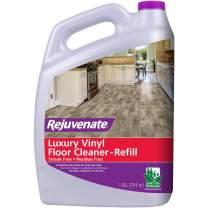 Rejuvenate High Performance Luxury Vinyl Tile Plank Floor Cleaner pH Neutral Formula Doesn't Leave Streaks or Dulling Residue 128oz