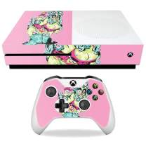 MightySkins Skin Compatible with Microsoft Xbox One S - Sugar Skull Girl | Protective, Durable, and Unique Vinyl Decal wrap Cover | Easy to Apply, Remove, and Change Styles | Made in The USA