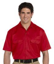 Dickies Men's 5.25 oz. Short-Sleeve Work Shirt