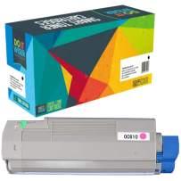 Do it Wiser Remanufactured Toner Cartridge Replacement for Oki C610 C610n c610dn | 44315302 (Magenta)