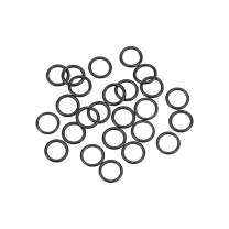 uxcell O-Rings Nitrile Rubber 5.5mm Inner Diameter 7.5mm OD 1mm Width Round Seal Gasket 25 Pcs