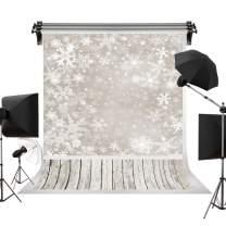 Kate 10x20ft/3m(W) x6m(H) Christmas Backdrops Winter Frozen Snow Wood Floor Background Children Photo Studio Backdrop