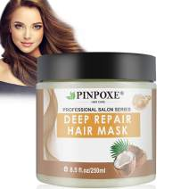 Hair Mask, Hair Conditioner, Deep Conditioner, Hydrating Argan Oil Hair Mask, Restores Dry & Damaged Hair, Hair Detoxifying Hair Mask Deep Conditioner Molecular Hair Roots Treatment
