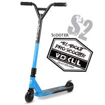 """VOKUL Pro Stunt Scooter with Stable Performance - Best Entry Level Tricks Freestyle Pro Scooter for Age 7 Up Kids,Boys,Girls - CrMo4130 Chromoly Bar - Reinforced 20"""" L4.1 W Deck …"""