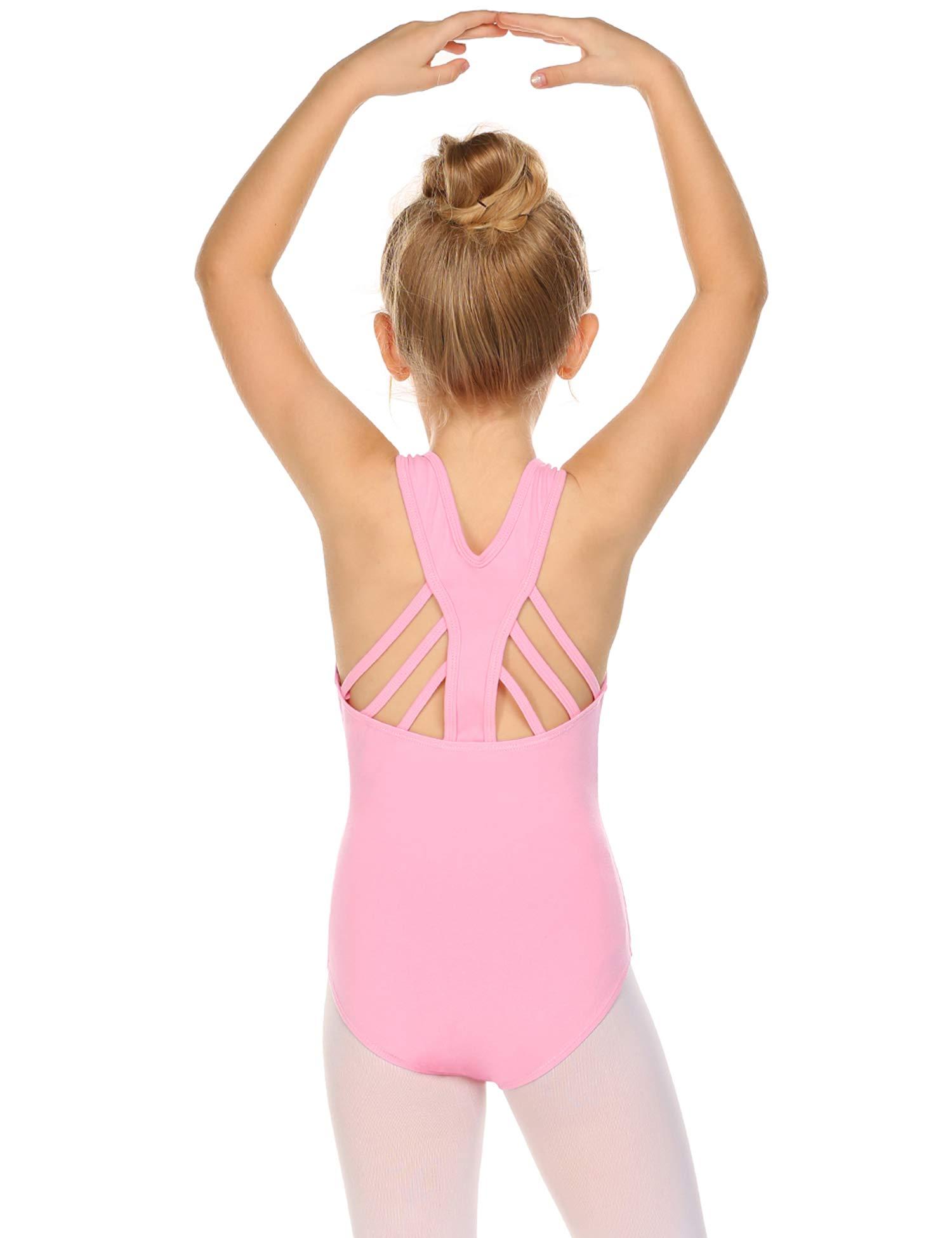 Arshiner Girls' Tank Leotard Gymnastics Ballet Dance
