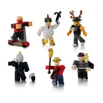 Roblox Action Collection - Masters of Roblox Six Figure Pack [Includes Exclusive Virtual Item]