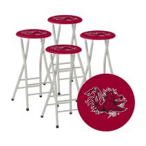 Best of Times Collegiate Bar Stools, South Carolina, Set of 4