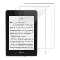 Gzerma Screen Protector for Kindle Paperwhite 2018 10th Generation, Ultra Clear Childproof Shatterproof Front Screen Protective Cover Film for Amazon Kindle Paperwhite E-Reader 6 Inch (3-Pack)