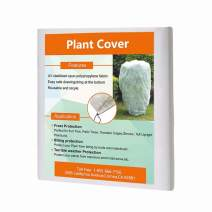Agfabric Cover Plants,0.95 oz,Warm Worth Frost Blanket Rectangle Hanging Plant Jacket,Shrub Jacket for Season Extension&Frost Protection (H84''xW72'')