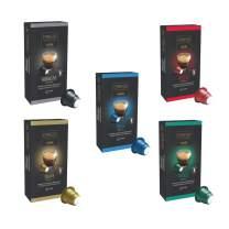 Caffitaly Nespresso Original Line Compatible Coffee Capsules Veriety Pack 50 Pods