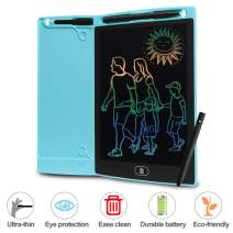 BTGGG Colorful LCD Writing Tablet, 8.5 Inch Electronic Doodle Pads with Lock Function for Kids, Doodle Pads and Drawing Board for Adults at Home, School and Office (Blue)