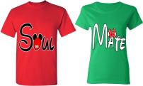 Soul Mate - Matching Couple Shirts - His and Her T-Shirts - Tees