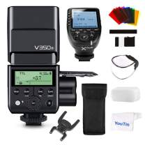 GODOX V350S TTL Flash + Xpro-S Flash Trigger Wireless Flash Radio (2.4G) Transmission HSS Full Power Flashs Compatible with Sony Cameras A7RIII A7RII A7R A77II RX10 A9 A58 A99 ILCE6000L