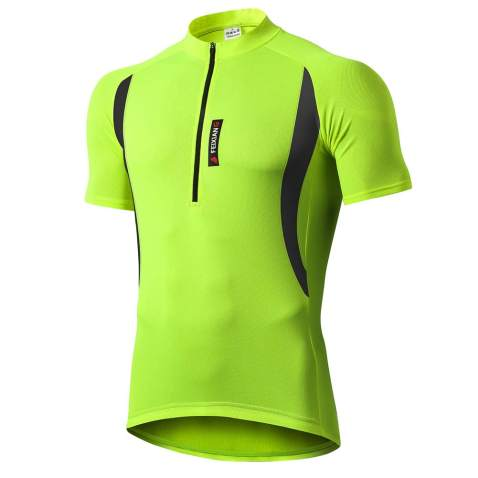 Mens Cycling Premium Dry Fit Breathable Sports T-Shirt to The Dark Side We Have Bikes
