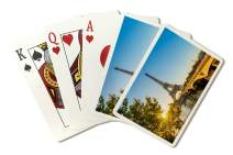 Paris, France Eiffel Tower Photography A-91302 (Playing Card Deck - 52 Card Poker Size with Jokers)