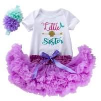 MiXiaoJie Baby Girls Dress Newborn Party Dresses Short Ballet Tutu Dress Outfits
