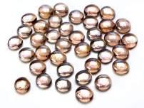 Darice 1149-93 Pink Luster Glass Gems in a Mesh Bag