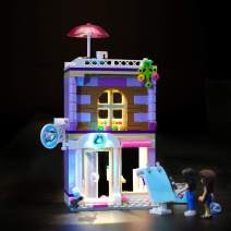 LIGHTAILING Light Set for (Friends Emma's Art Studio) Building Blocks Model - Led Light kit Compatible with Lego 41365(NOT Included The Model)