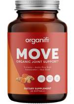 Organifi - MOVE Organic Joint Support - Promotes Joint Health - All Natural Anti Inflammatory - Superfoods Arctic Pine Bark, Astaxanthin, Holy Basil and Turmeric - Gluten, Soy, Dairy Free - Immunity S