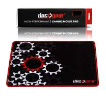 """Deco Gear Medium Sized Pro Gaming Mouse Pad Water Resistant Non-Slip (11"""" x 14"""")"""