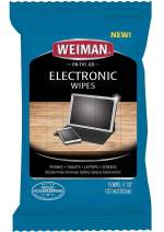 Weiman Electronic Wipes - Non Toxic Safely Clean Your Screen, Laptop, Computer, TV, Equipment-Electronic Cleaner Wipes