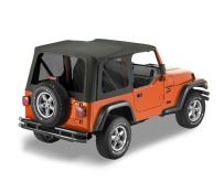 Bestop 7914135 Black Diamond Sailcloth Replace-A-Top for 2003-2006 Wrangler (Except Unlimited)