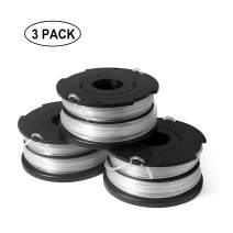 Eyoloty Weed Eater Spool Compatible with Black Decker GH710 GH700 GH750 DF-065 String Trimmer Refills Spools, 36ft 0.065 inch Replacement Auto-Feed Dual Line Edger Parts 90517175 (3 pcs)