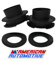 American Automotive 1994+ Ram Lift Kit 2WD Made in USA 'Road Fury' Steel Coil Spring Spacers (Set of 2) (3 inch)