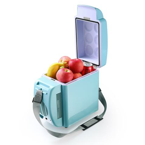 Housmile Electric Car Refrigerator, Portable Mini Fridge with Cold and Hot Functionality - 7L