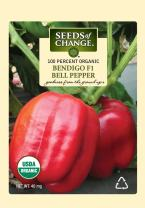Seeds Of Change 5905 Certified Organic Bendigo F-1 Pepper