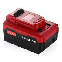 5000mAh 20 Volt Lithium Replacement Battery for for Porter Cable 20V,FMC687L,FMC688L,PCC680L,PCC685L,PCCK602L(Also Compatible with Black&Decker 20V)