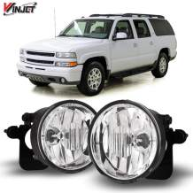 Winjet Compatible with [2003 2004 2005 2006 Chevrolet Suburban/Tahoe Z71] Driving Fog Lights