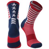 Athletic Running Socks, Gmark Unisex Crazy Funny Cartoon/American Flag/Chicken Legs Gift Holiday Socks