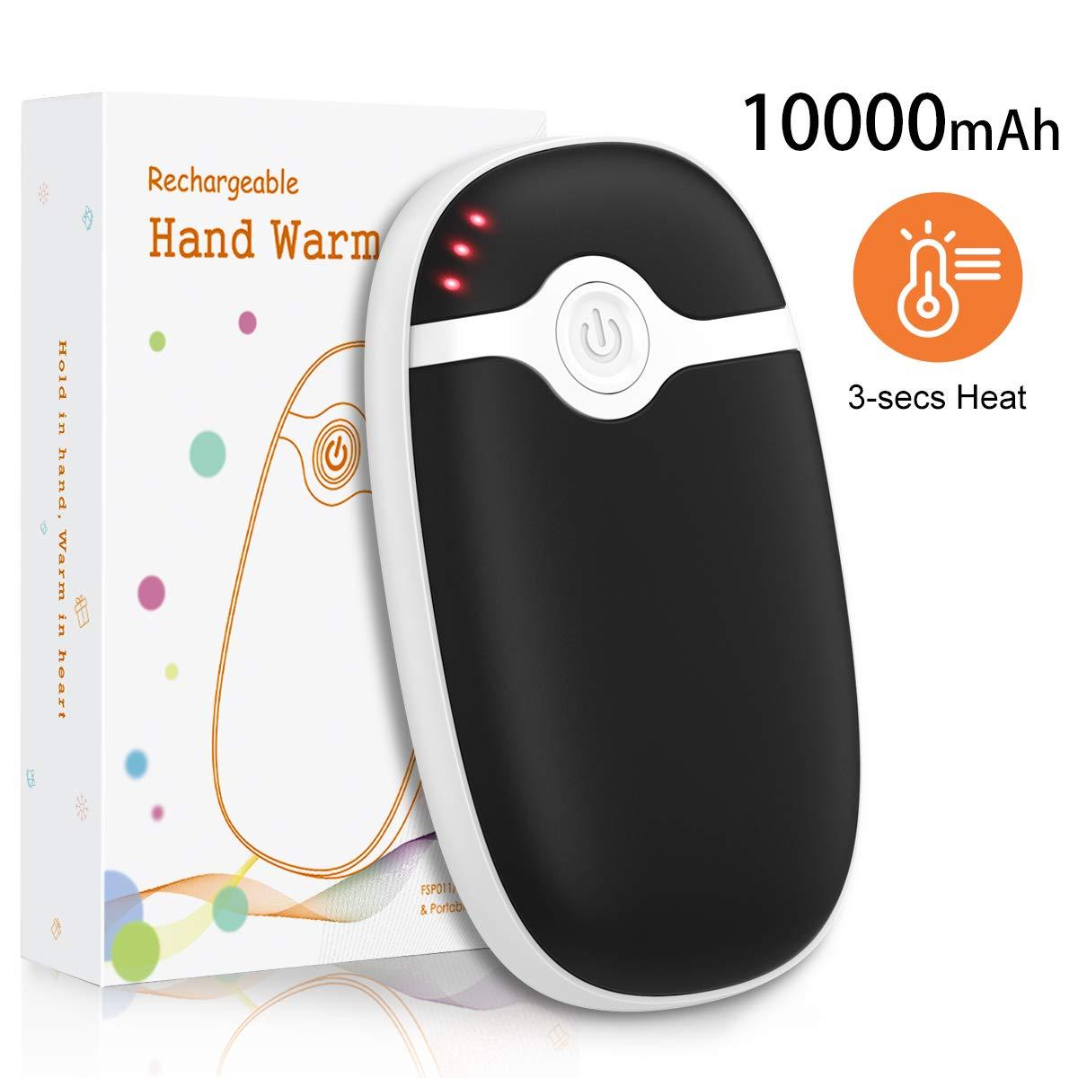 Practical Handwarmer Stainless Steel Pocket Heater Hand Warmer Winter Sports