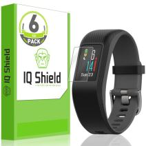 IQ Shield Screen Protector Compatible with Garmin Vivosport (6-Pack) LiquidSkin Anti-Bubble Clear Film
