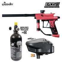 Maddog Azodin KAOS 3 HPA Paintball Gun Marker Starter Package A